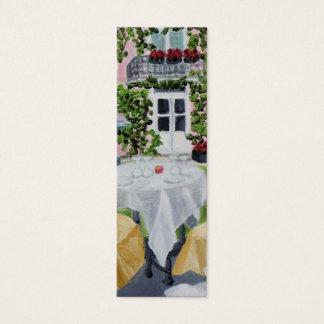 La Table des Marechaux skinny bookmark Mini Business Card