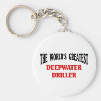 La taladradora más grande del agua profunda llavero