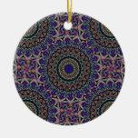 La tapicería oscura tejó el modelo de Kaleido Ornamente De Reyes