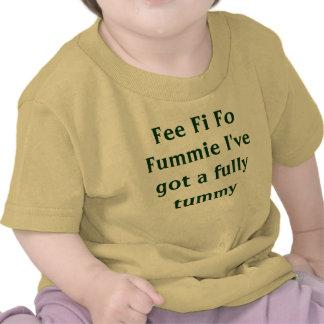 La tarifa Fi FO Fummie tengo completamente una pan Camiseta