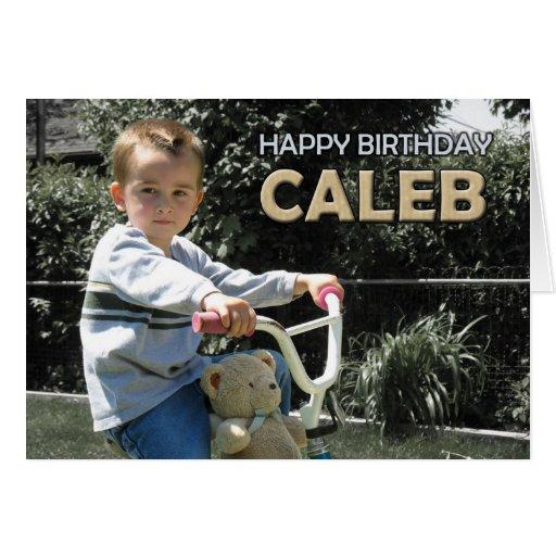 La tarjeta de Caleb