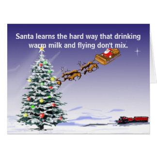 La tarjeta de conducción de Santa