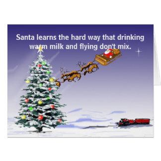La tarjeta de conducción de Santa (grande)