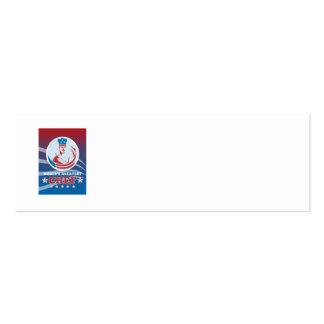 La tarjeta de felicitación americana más grande de tarjetas de visita