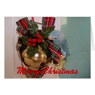 La tarjeta de felicitación de las Felices Navidad