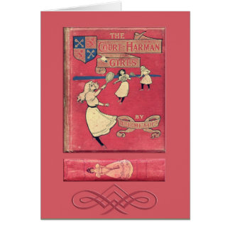 La tarjeta de felicitación de los chicas de la Cor