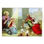 La tarjeta de felicitación de los hombres sabios