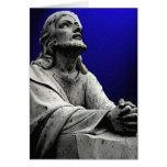 La tarjeta de felicitación de Prayer del señor