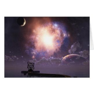 La tarjeta de felicitación del astrónomo