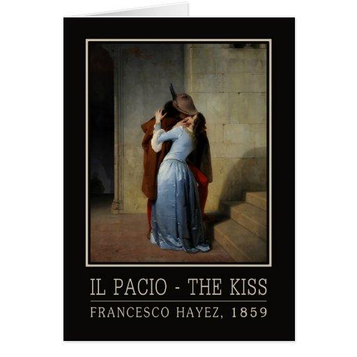 La tarjeta de felicitación del beso/IL Bacio