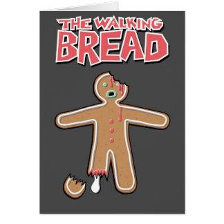 La tarjeta de felicitación muerta del hombre de pa