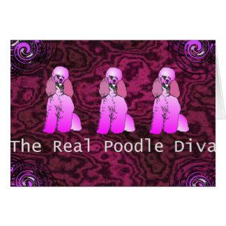 La tarjeta de felicitación real de la diva del can