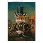 La tarjeta de felicitaciones apuesta del Fox Tarjeta De Felicitación
