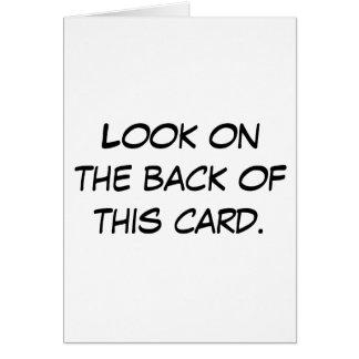 La tarjeta de idiota