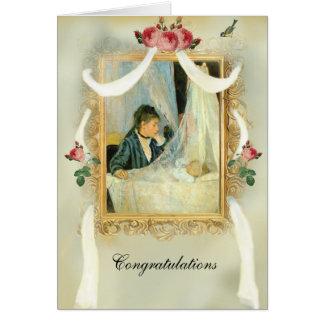 La tarjeta de la enhorabuena del pesebre 2