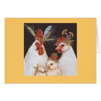 La tarjeta de la familia de Forsythe