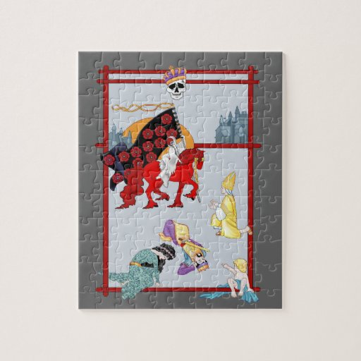 La tarjeta de la muerte de Tarot Puzzle