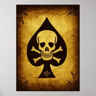 La tarjeta de la muerte póster