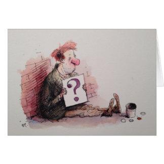 La tarjeta de la pregunta
