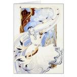 La tarjeta de la reina del cisne