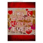 ¡La tarjeta de la tarjeta del día de San Valentín