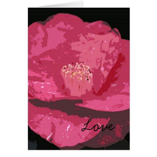 La tarjeta de la tarjeta del día de San Valentín