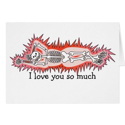 La tarjeta de la tarjeta del día de San Valentín: