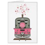 La tarjeta de la tarjeta del día de San Valentín -
