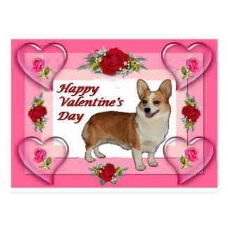 La tarjeta de la tarjeta del día de San Valentín Postal