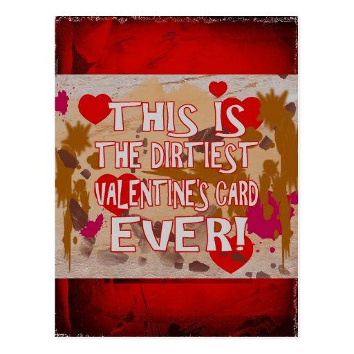 ¡La tarjeta de la tarjeta del día de San Valentín Tarjetas Postales