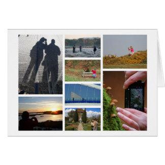 la tarjeta de los Fotografía-amantes