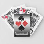 La tarjeta de plata Club-Personaliza nombre Cartas De Juego