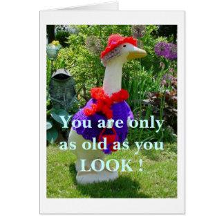 La tarjeta de Red Hat, viste su ganso