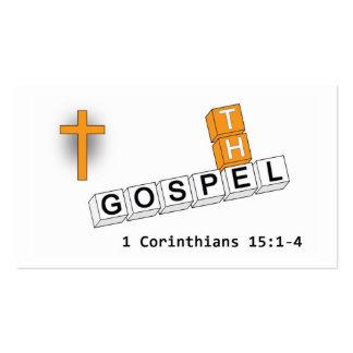La tarjeta de visita del evangelio