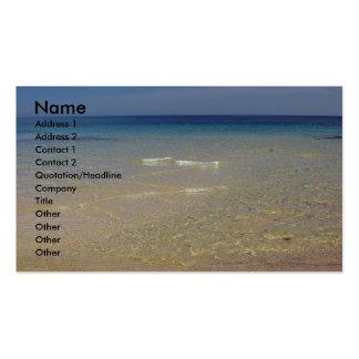 La tarjeta de visita mediterránea 1
