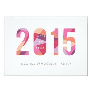 La tarjeta del Año Nuevo del Año Nuevo de la Anuncio