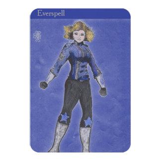 """La tarjeta del colector de Everspell Invitación 3.5"""" X 5"""""""