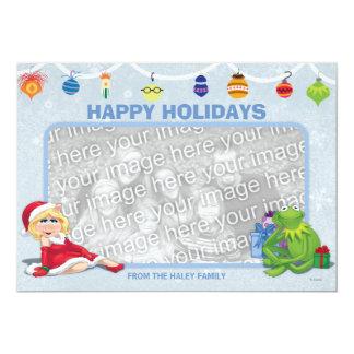La tarjeta del día de fiesta de los Muppets Invitación 12,7 X 17,8 Cm