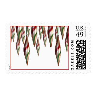 La tarjeta del día de fiesta de USPS de los bulbos Franqueo