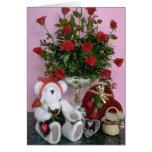 La tarjeta del día de San Valentín atesora la tarj