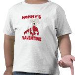 La tarjeta del día de San Valentín de la mamá del Camisetas