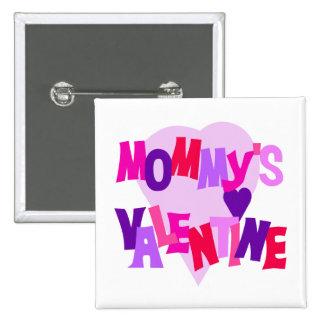 La tarjeta del día de San Valentín de los colores  Pin