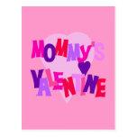 La tarjeta del día de San Valentín de los colores  Postal