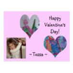 La tarjeta del día de San Valentín de Tessa Postales
