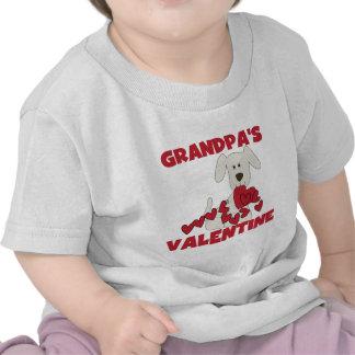 La tarjeta del día de San Valentín del abuelo del Camiseta