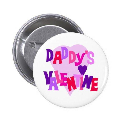 La tarjeta del día de San Valentín del papá Pins