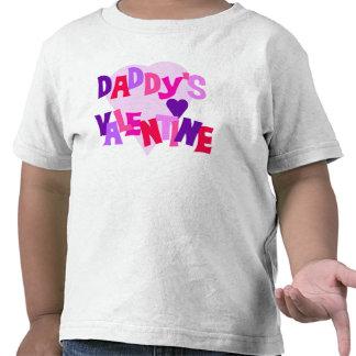La tarjeta del día de San Valentín del papá Camisetas