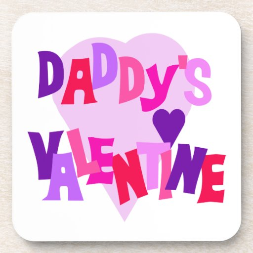 La tarjeta del día de San Valentín del papá Posavasos