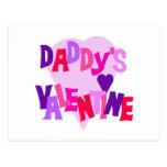 La tarjeta del día de San Valentín del papá Postal