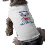 La tarjeta del día de San Valentín del papá Camisa De Mascota